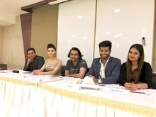 The Jury for Miss universe India @roshmitaa Who is going to represent India at Miss Universe in Philippines this year .. wish her all the very best :)  #missindia #missuniverse2016 #jury #fashion