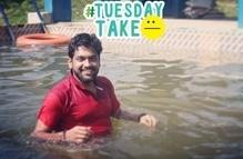 #poolside#cool#shakleshpura#trip#hillstation#aghalatti#riverretreat#resort #TuesdayTake