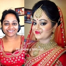 Gorgeous Bridal Makeover for this lovely girl! Makeup by Parul Garg. Contact 9599588312 #parulgargmakeup #bridal