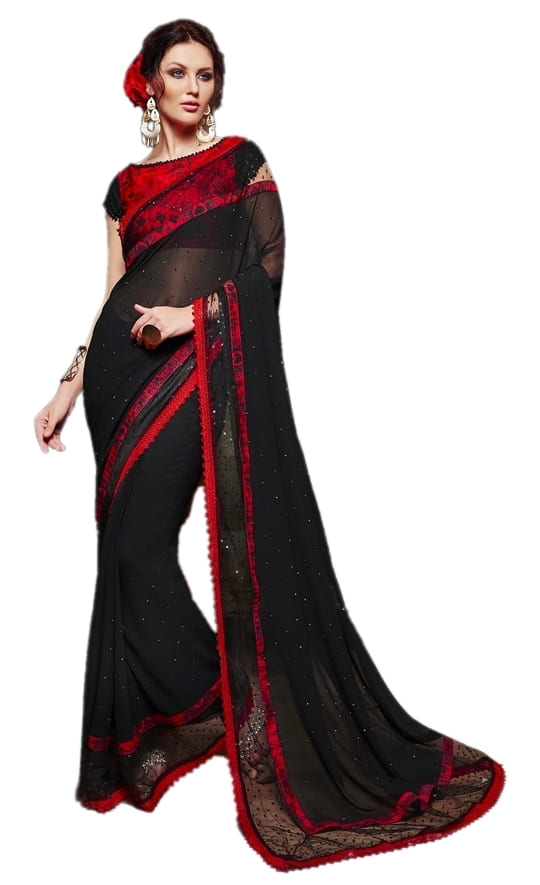 The exclusive black party wear saree. Actual price - 3375/- Discount Price - Chat to Buy  #thelabelbazaar #black #saree #sareeswag #sareelook #sareelover #partytime #partylook #ethnic #ethnicwear #ethnic-wear #ethnicsaree #ethnicsarees #blackloverforever #fashionforecast2017 ##roposo #2017 #fashionforecast2107 #love #fashionblogger #women-fashion #beauty #style #hello2017 #2017ready #winter #evening #eveningwear #ropo-love #wedding #weddings #weddingseason #weddingbells #weddingwear #thelabelbazaar #designer #designer-wear  #soroposo #soroposolove #soroposogirl #soroposofashion