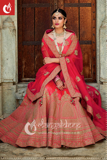 Dictate Your Fashion Statement With This Pink Colored Designer #Lehenga For #WeddingCeremonies. Attire Now :- https://goo.gl/Lk2LBi  👗👚 For Live Shopping Click This Link :- https://goo.gl/3tCilt For more information :- Call us @+919377222211 (Whatsapp Available)