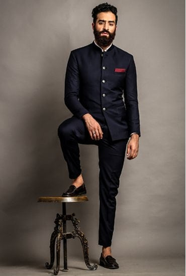 So #GROOMS ?? How about this stunning #JodhpuriSuit #GroomsOutfit #MensSuit #suit