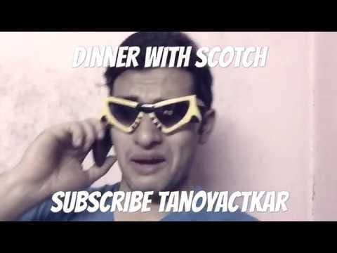 Dinner with Scotch