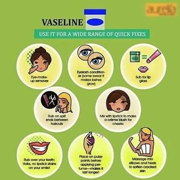 Look what wonders can vaseline do! #vaseline #hacks #vaselinehacks #beautyhacks #makeuphacks #petroleumjellyhacks