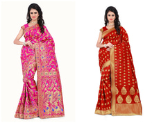 Banarsi Sarees are Back in Trend and So is the New Collection Check out Now!  Buy Now: http://bit.ly/2jjK2A0  #Fleaffair #FleAffairWithshopping #Fashion #style #saree #Beautiful #Trendy #Design #grabit #awesomelook #nicecollection #love #Girls #EverythingButTheOrdinary