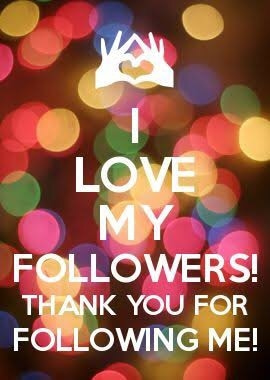 I love my followers...😍😘