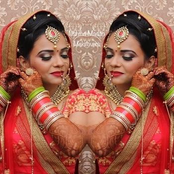 Add bling to your look with Nishtha Madan Makeovers.  Follow us on facebook. Link in bio. #makeup #hair #makeupartist #makeuplover #makeupaddict #makeupdolls #makeupbyme #nishthamadan #muadelhi  #freelancemua #makeupartistindia #lovemyjob #makeupdiaries #bridalmakeup #bride #indianbride #eyes #lashes #happyclients #clientdiaries #bridalasia #asianbride #wedmegood #indianweddings #dreams #goals #makeover  #pretty #happyclients #shaadisaga #makeupdolls #weddingplz #bridal