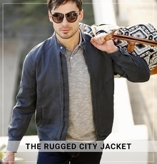 No matter what street you find yourself in, always look on point with this full zipper lycra denim jacket. This has you ready for any occasion.  Shop this Jacket @ https://goo.gl/ePChuh