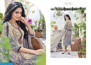 PRODUCT CODE: OMTEX DAISY KHADI COTTON SALWAR KAMEEZ WHOLESALE Catalog pieces: 6 Full Catalog Price: 9594 Price Per piece: 1599 MOQ: Full catalog Shipping Time: 4-5 days Sizes: Semi Stich  company name :- textiledeal For more info feel free to call or  whatsapp :- +91-9426089844  Link :- https://textiledeal.in/wholesale-product/6626/omtex-Daisy-khadi-cotton-Salwar-kameez-Wholesale  We will give a original product only .