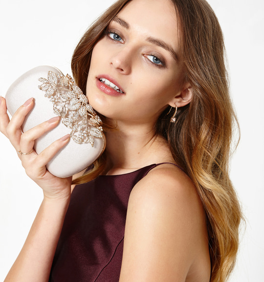Get the perfect look with our Erin Embellished Clutch #forevernewstyle