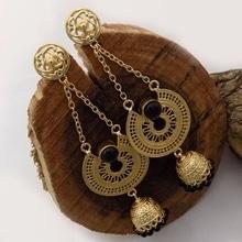 Samana Fashion Jewellery #jewellery #glam #earrings #fashion #women-fashion #artificialjewelry #for more info what's app 9871104290