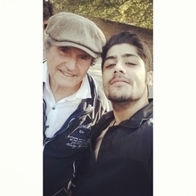 Was an honour working with Sir #Claudelelouch on the film #UnPlusUne .He's won 2 oscars as a director for films like #lesmiserables and #amanandawoman. ❤️❤️🙏🏻 #gratitude #film #india #frenchcinema #international #debut