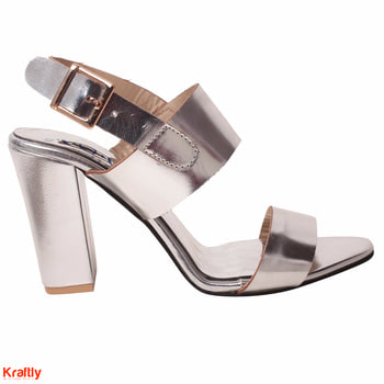 This silver heels is all you need to look classy #Kraftly Buy Now: http://bit.ly/2j03xPt #Onlineshopping #LikeforLike #followforfollow  #Women footwear