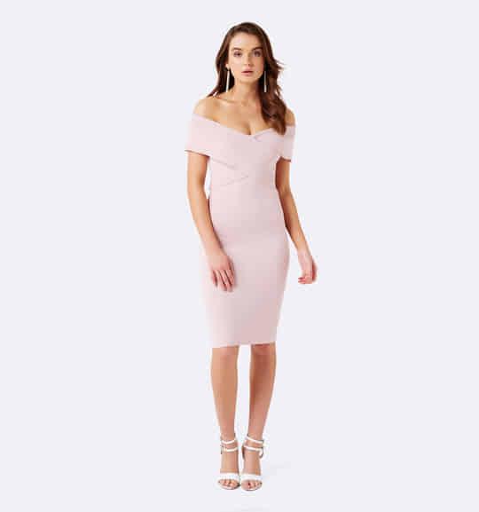 Pastel Love! Kiki Sleveless Cross Front Dress  #forevernewstyle