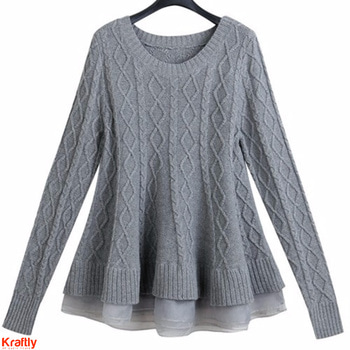 Grey is winter's favorite color anytime. Wear our flared grey pullover for that girly get up #kraftly Buy Now: http://bit.ly/2j01fjG #Onlineshopping #picoftheday #Womenapparel