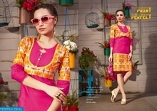 RAAGINI WHOLESALE READYMADE KURTIS COLLECTION Catalog pieces: 12 Full Catalog Price: 6420 Price Per piece: 535 MOQ: Full catalog Shipping Time: 4-5 days Sizes: L,XL,XXL  company name :- textiledeal For more info feel free to call or  whatsapp :- +91-9426089849  Link :- https://textiledeal.in/wholesale-product/6651/Raagini-Wholesale-Readymade-Kurtis-Collection   We will give a original product only .