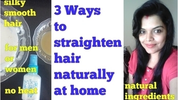 HAIR STRAIGHTENING at HOME PERMANENTLY, NATURALLY, WITHOUR HEAT, for MEN or WOMEN in HINDI Please subscribe my channel: Preetipranav - Indian Mom's Tips and DIYs #haircare #hairstraightening #homeremedies #naturallystraight #youtuber #youtubeindia #youtubechannel #diybeauty