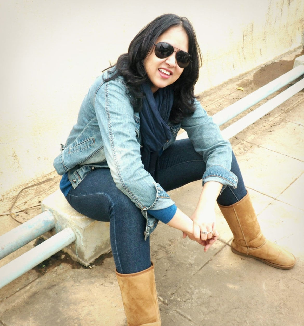 Pragati shows us how to carry a denim jacket this winter. Check the full story at http://beforbeauty.com/winter-fashion-denim/   :D  #fashion #fashionblogger #fashionblog #women-fashion #fashioncity #fashion-diva #fashionbloggerindia #ootd #winterstyle #winterstylefiles #swiss #swissblogger #swissblog #roposolove #roposofashion #roposofollow #follow #followmeonroposo