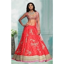 Shilpa Shetty In Red Lehenga Choli - 60337 @ Rs.3310 /- only  Buy Now : https://goo.gl/H1LMLJ   Flat 10% OFF on First Order ( Use Coupon Code - IAMNEW10 )  Get Free Home Delivery + COD + Easy EMI + Easy Refund / Replacement Policy.!! * 100 % Customer Satisfaction  * Stitching Service Also Available * World  wide Shipping   #lehenga #lehengacholi #womensonlineshopping #bollywoodstyle #sale #storeadda #shilpashetty #designer #bridalwear #weddingseason #banglorisilk