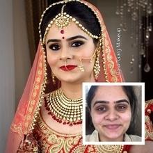 Beautiful Bridal makeover by Parul Garg! Contact 9599588312 #bridal