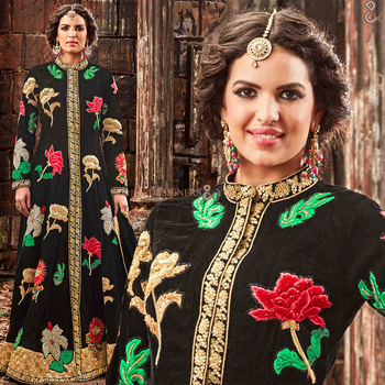 Pleasing Black Thread Work Velvet Salwar Kameez For Ceremonies  For Order:- http://www.designersandyou.com/dresses/wedding-dresses/pleasing-black-thread-work-velvet-salwar-kameez-for-ceremonies-4400  To View More Designs Available On This:- http://www.designersandyou.com/dresses/wedding-dresses  To View Black Wedding Dresses:- http://www.designersandyou.com/dresses/wedding-dresses/black  To View Velvet Wedding Dresses:- http://www.designersandyou.com/dresses/wedding-dresses/velvet  #Indian #Wedding #Dresses #Reception #Clothes #IndianWear #OnlineShopping #EthnicWear #Designersandyou #WeddingDresses #Fashion #IndianFashion #Canada #UK #USA #Picoftheday #Like #Inspire #Soroposo #FashionableDressesOnline #CheapestDresses #Cheap #Season #WeddingDressesPrices #Design #Designs #Design2017 #Latest #AsianDresses #Embroidery #EmbroideredWeddingDresses