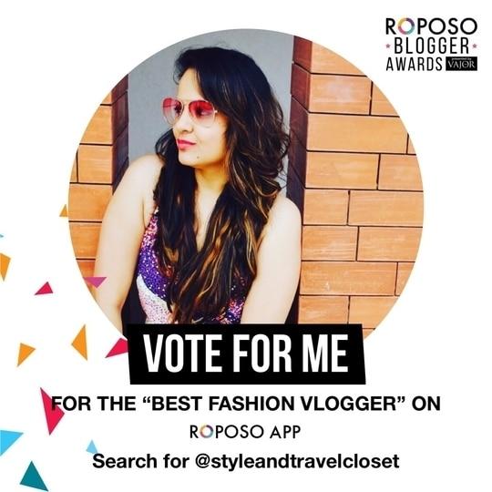 #roposobloggersaward  #roposofashionblogger #fashionvlogger #soroposogirl #soroposolook #roposocontest #vloger #indian vloggers #vlogger #styleinfluencer #styledbyme #fashionvideo #fashionstylist #roposoblogger #roposostyleblogger #soroposostylefiles #roposogal #roposodaily #vajor @vajor @roposocontests @roposotalks #bohostyle #bohochic #bohovibes #bohovibes #bohofashion #streetstyle #styledairies #casualwear #womensfashion #springsummer2017 #lookoftheday #newfashioneveryday #roposolive #roposoaddict #roposo-makeupandfashiondiaries #roposofashionblogger #fashionstylist #followmeonroposo @styleandtravelcloset #roposobloggerawards