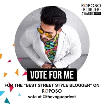 Grateful✨ Vote for me Guys for the Best Street Style Blogger🍷 #thevoguepriest #roposobloggerawards   #fall #fallfashion #winter #autumn #hoodie #street #streetstyle #look #fashion #couple#you #bloggerlife #lifestyle #blog #blogger #style #ootd #men #fashionblogger #tbt #instagram #love #beard #fashionista #instagrammers #followback #indianblogger #indianfashionblogger #indianmaleblogger #tbt #instagram #love #beard  #hate #enemies #sun #white #fashion #quote #you #sale #bye2016 #newdp #selfieoftheday #christmas #photoshoot #denim #shopping #model #india #photography #hair #girls #mumbai #ropo-good #designer #cute #weekendoutfit #ropo-love #roposolove #winterlook #winter #hairstyle #roposobloggerawards #vajor #roposoblogger #award #vajor #fashion #lifestyle #blogger #fashionblogger #lifestyleblogger #men #menswear #suit #jacket #black #white #florals #trend #roposo #roposolove #roposotalk #whatiwore #whathewore #bespoke #watch #luxury #allindiablogger #vote #streetstyle #street #food #photography #art