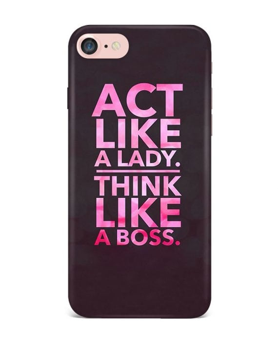 You know what could be the best combination to become successful and Smart. Its, Act like  a lady, Think like a Boss.  https://goo.gl/cTc1rZ  Think like a boss case avaialble for iPhone and other Android models like Lenovo, Letv, HTC, Honor, Asus, Samsung, Motorola, Oppo and a lot more   To Shop, WhatsApp us now on 8971307171 Or log on to www.qrioh.com #qrioh #qriohexclusives #qrioh #shopnow #roposos #newyear #goals #phonecase