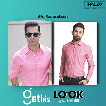 #GetThisLook  Looking effortlessly cool can often take some effort of doing shopping. Take cue from #Varun_Dhawan, who styled his basic formal shirt in an elegant way. Get this look at Iralzo! Chambray long sleeves oxford shirt with spread collar and regular fit. Classic button fastening.  Shop a similar look  https://goo.gl/zUZK2e  #formalshirts #fashion #iralzo #bollywood #movie #celebrity #stars #f4f #potd #pink #l4l #menshirts #mens #shirts #handsome #sexy #ootd #wiwt #gtl #red #january #weekend #gurgaon #saturday #roposopic  #roposo  #forroposousers #roposolove #roposoinspiration