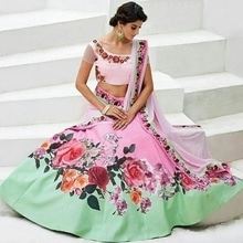 Wedding Wear Pink Lehenga Choli - JL01 @ Rs.2570 / - Only   Buy Now : https://goo.gl/V4wg43   Flat 10% OFF on First Order ( Use Coupon Code - IAMNEW10 )  Get Free Home Delivery + COD + Easy EMI + Easy Refund / Replacement Policy.!! * 100 % Customer Satisfaction  * Stitching Service Also Available  * World Wide Shipping   #lehengacholi #womensonlineshopping #ghagracholi #chaniyacholi #womensonlineshopping #sale #storeadda #bridal #weddingwear #ethnicwearonline  #digitalprinted #pink #bollywoodstyle #bollyinspired