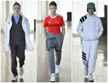 Gosha Rubchinskiy collaborated with Adidas Football for his Fall/Winter 2017/2018 collection. This collaboration is said to be a long term initiative which will go on for another three seasons in the run up to the 2018 World Cup, which will take place in Russia.   #mensfashionweek #fallwinter #2017/2018 #adidas #football #GoshaRubchinskiy