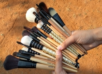 """My obsession with these fluffs! :') This particular blog post is on """"5 brushes you need to get your eye makeup right"""". I've also mentioned links from where you can buy these brushes. Enjoy reading :)   https://eachphaseanewface.wordpress.com/2017/01/03/5-brushes-you-need-to-get-your-eye-makeup-right/ #beauty #beautyblogger #indianblogger #makeup brush"""