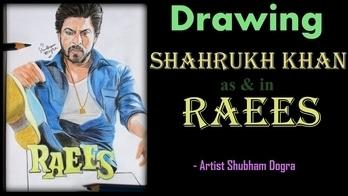 "Drawing RAEES Shahrukh Khan!  Do SUBSCRIBE my YouTube channel ""Artist Shubham Dogra""  #art #artist #artworld #artworks_feature #artwork #drawing #draw #drawings #love-drawing #sketchingisfun #sketchingislove #sketchinglove #sketchbook #sketch #raees #srkian #srk #srkfan #shahrukhkhanfans #shahrukhkhanclub #shahrukhkhan #howto #picoftheday #artoftheday #indianyoutuber #youtubecreatorindia #youtuber #bollywood #bollywoodstyle #realistic #ropo-love #roposodaily #followme #followforfollow"