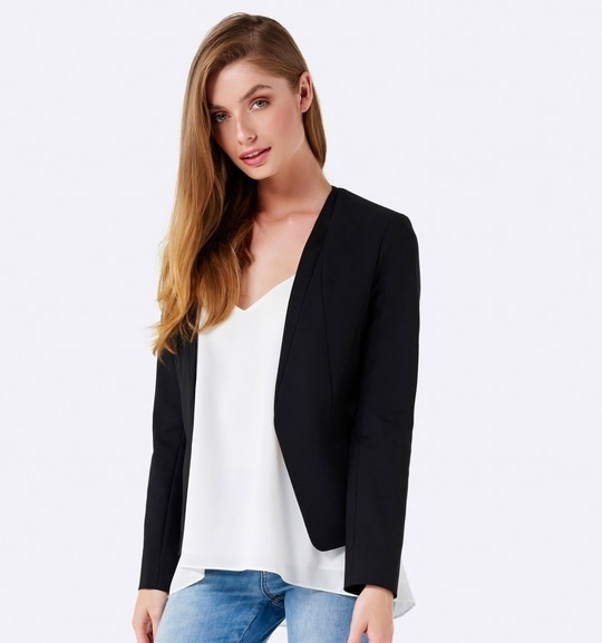 Classic sophistication in our Milly Structured Jacket #forevernewstyle