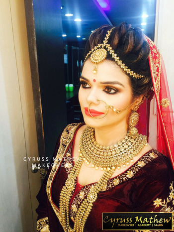 #RoyalAirbrush Bridal #Makeover At Cyruss Mathew Makeover  ✨ Go For #outstationservices With Us 😍 Contact us on : 9891619652 / 9711121954 / 011-45686679 | Location : S-23 , Ground Floor , Janta Market , Rajouri Garden <3  #CyrussMathew #CyrussMathewMakeovers #RoyalMakeovers #BridalMakeover #PreBridalPackages #Salon #Academy #MakeupCourses #RajouriGarden #Studio #Makeups #PartyMakeup #MAC #HD #Airbrush #VenueServices #OutstationServices