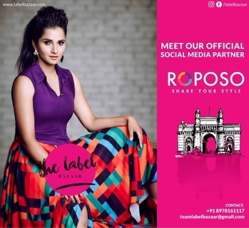 Are you on the coolest fashion app in the country? If not, join now. Follow us on Roposo, our official social media partner for The Label Bazaar season 3 #TLB #tlbseason3 #mumbai #hyderabad #chennai #threecitytour #threetimesthefashion #fashionx3 #exhibitions #thelabelbazaar#Amchimumbai