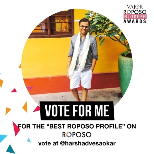 Guys its time to vote.... Please shower your love by voting me, Thankyou so much