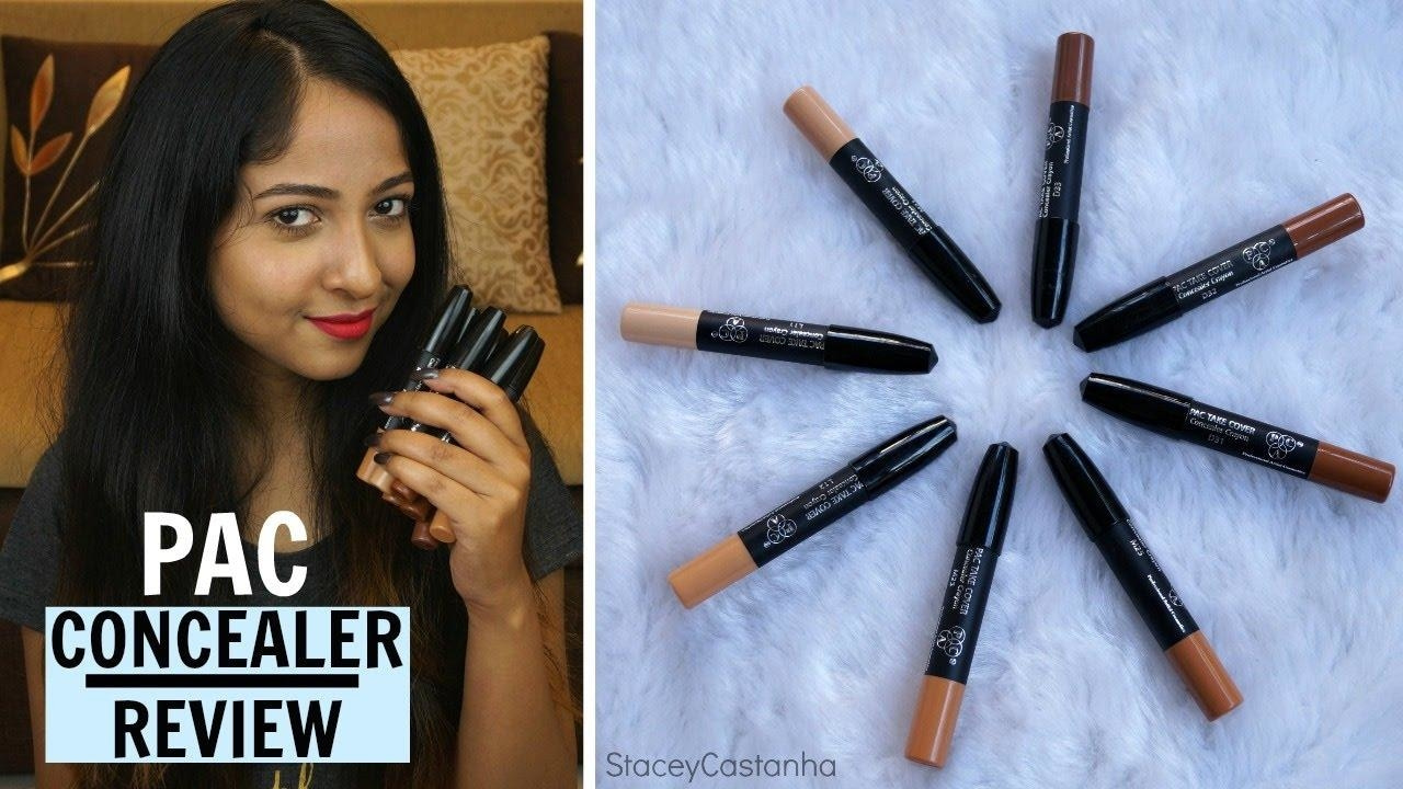 PAC Concealer Crayon Take Cover Edition | Review/Swatches | Stacey Castanha #youtube #youtubeindia #makeup #indianvlogger #makeuplove #browngirl #puneblogger #puneyoutuber #paccosmetics #review #beautyblogger #makeupjunkie #videotutorial #video #videooftheday #reviewoftheday #concealer