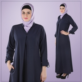 Get your hands on this elegant abaya before it's too late! Shop Now : http://bit.ly/2b5mIjO  #Abayas #Abaya #Looks #ootd #fashion #Fashionista