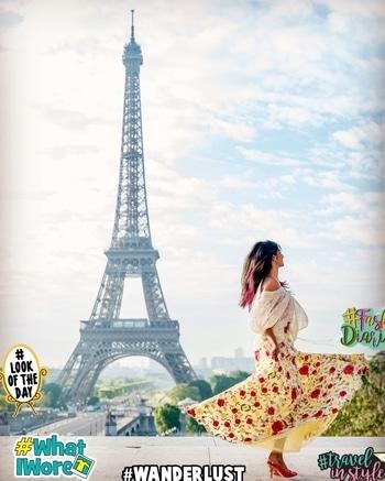 Ootd : My design #whatiwore #wanderlust #travelinstyle #LookOfTheDay #fashiondiaries