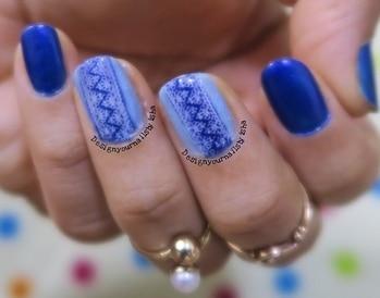 Lace Stamping Nail art 💙💙💙 full video is up on my youtube .. link in bio👆 . #designyournailsbyisha #ishanailart #creativity #nailartdesign #manicure #nailadesigns #nailartaddict #nailswag #instanails #thebestnailart #lovenailartindia #AllThePrettyNails #scra2ch #nag_repost #nailpromote #whatsupnails #stampingnailart #stampdecals #diynaildecals
