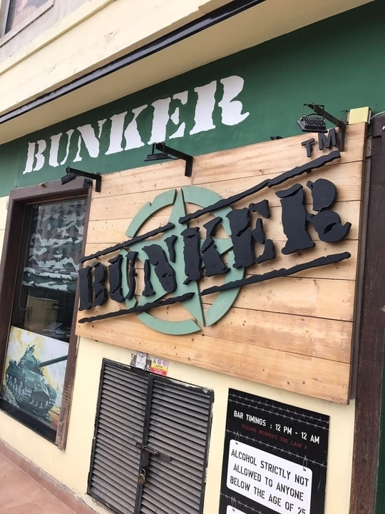 Bunker Gurgaon, Amazing food and cocktails !