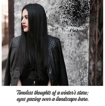 // Timeless thoughts of a winter's stare; eyes gazing over a landscape bare🌬 | A dark winter ft. @newlookfashion @zara @zaraindiaofficial @stylefiesta @michaelkors @riverisland #ImWearingRI | #Ootd #OutfitOfTheDay #Romper #Jacket #Choker #Belt #Tassels #Black #WinterFashion #WinterHues #PersonalStyle #StreetStyle | Hair and makeup @dessangemumbai @sneha1311 | Photography @kee_bee | #POPxoBlogNetwork #POPxoBlogger @popxodaily | #Fashion #Blog #FashionBlogger #India #IndianFashionBlogger #IndianBlogger #Mumbai #MumbaiBlogger #InstaDaily #DailyFeature #NitikaChoraria #TheGlitterCrumb x