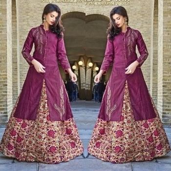 Purple Indo-western Suit Product code - FCL349  Available at www.fashionclozet.com  Watsapp - +91 9930777376 Email -  info@fashionclozet.com Or DM for enquiries.  #indowestern #indianfashion #india #indowestern #diamirza  #pink #designersuit #chudidar #newzealand #bride #desibride #indianbride #pakistanibride #pakistan #bollywood #desifashion #desi #desibridal #wedding #weddinginspiration #dulhan #shaadi #indianwedding #desiwedding #weddingdiaries #weddingphotography #pakistanifashion #desicouture #pakistani #indianfashion