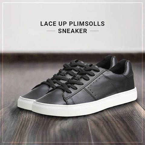 The City Slicker Plimsoll Sneakers, You gotta have these boys!  Buy this essentials @ https://goo.gl/P9tcO8