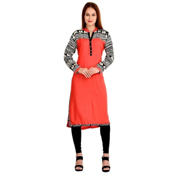 Beauty being the best possible version of yourself on the inside and out just like our gorgeous collection of #CasualWear #Pink #Kurtis #FreeShipping in #India  http://www.ishimaya.com/kurtis/pink.html?utm_source=roposo&utm_medium=refferal&utm_campaign=smo