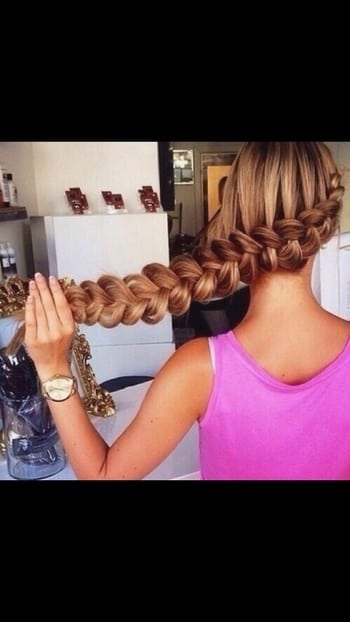 So beautiful hair braid