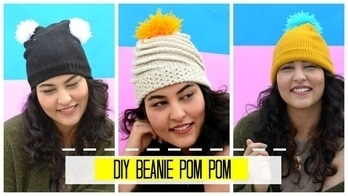 NEW VIDEO ALERT! Want to learn how to make these cute beanies under 2 minutes? WATCH THE VIDEO AND SHARE IT TOO❤️ #stylemeupwithsakshi #indianyoutuber #delhiyoutuber #diy #diyvideo #easytutorial #roposodaily #roposodiva #ropo-love #roposotimes #roposoinfluencer