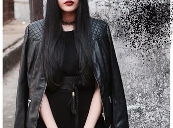 // Details👄 | A dark winter ft. @newlookfashion @zara @zaraindiaofficial @stylefiesta @michaelkors @riverisland #ImWearingRI | #Ootd #OutfitOfTheDay #Romper #Jacket #Choker #Belt #Tassels #Black #WinterFashion #WinterHues #PersonalStyle #StreetStyle | Hair and makeup @dessangemumbai @sneha1311 | Photography @kee_bee | #POPxoBlogNetwork #POPxoBlogger @popxodaily | #Fashion #Blog #FashionBlogger #India #IndianFashionBlogger #IndianBlogger #Mumbai #MumbaiBlogger #InstaDaily #DailyFeature #NitikaChoraria #TheGlitterCrumb x