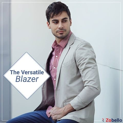 Makes for a great building block, this versatile Blazer is a must have to complete that Work and Casual Wardrobe.  Shop this @ https://goo.gl/sT0r3d   #onlineshop #Blazer #shopping